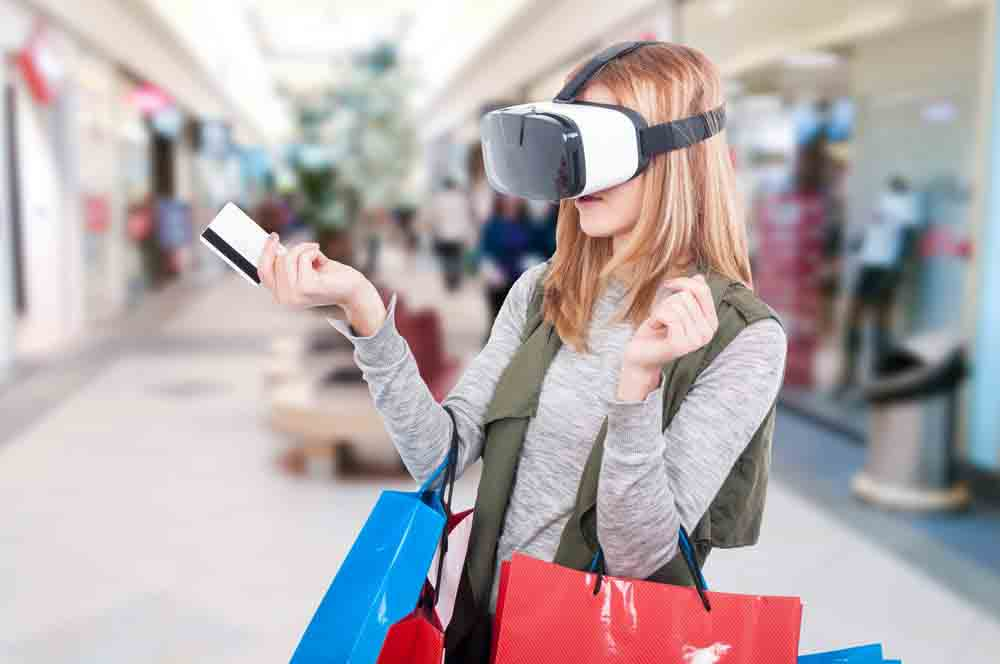 Virtual tour for retail industry